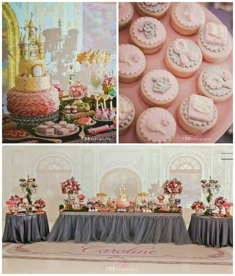 birthday themes elegant elegant princess birthday party via karas party ideas