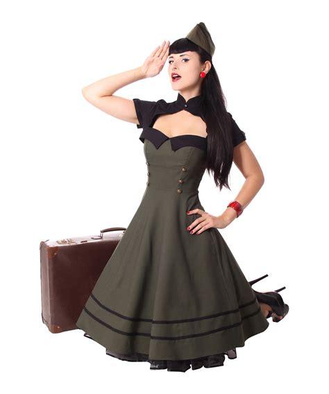 Vintage Swing Kleid by Sugarshock Harbor 40er Retro Swing