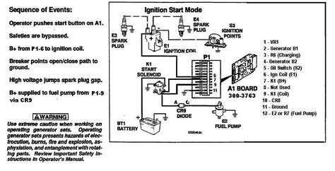 onan wiring diagram starter circuit onan automotive