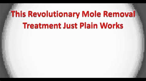 mole removal naturally remove skin moles