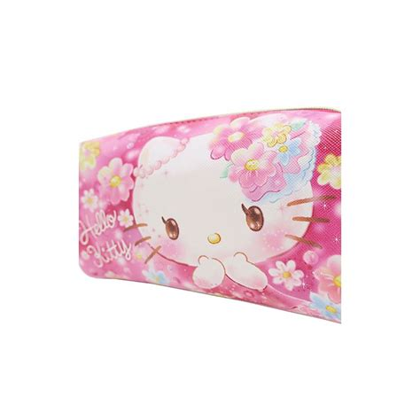 Hello Kitty Floral Dreams Cosmetic Pouch   Kawaii Panda