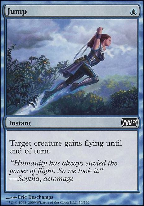 how to make a card jump out of the deck jump m10 mtg card