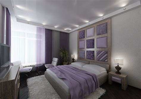Purple And Grey Bedroom | purple white gray taupe bedroom guest rooms