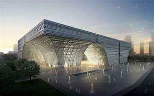 Architect In Chinese Changzhou Culture Center Southern China Building E