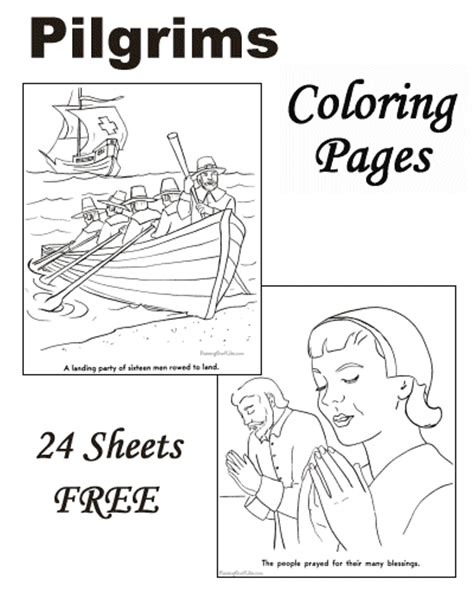 pilgrim village coloring page coloring pages of pilgrims thanksgiving for kids