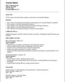 Graphic Design Resume Objective Exles by Creative Arts And Graphic Design Resume Exles