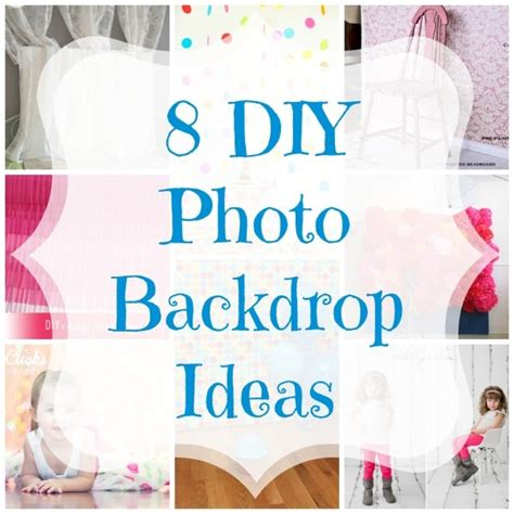 Homemade Home Decorations by 8 Diy Photo Backdrop Ideas Craft Gossip