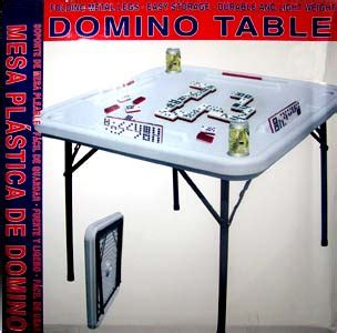 plastic domino table  cup holders ships