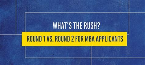 Applying Early For Mba Rounds by Should I Apply To B School Now Or Wait For 2