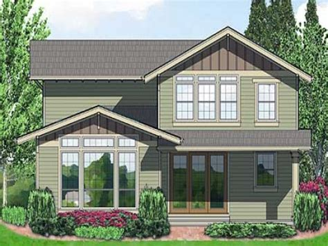 narrow lot house plans craftsman plan w6991am northwest narrow lot craftsman house plans