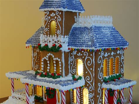 simple create gingerbread house plans