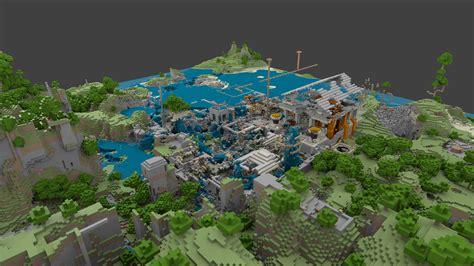 Minecraft, Blender, and mcobj   GeekLob