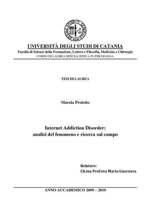 universit 192 degli studi di catania facolt 224 di scienze della