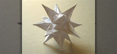 Spiky Origami - how to fold an origami spiky 171 origami