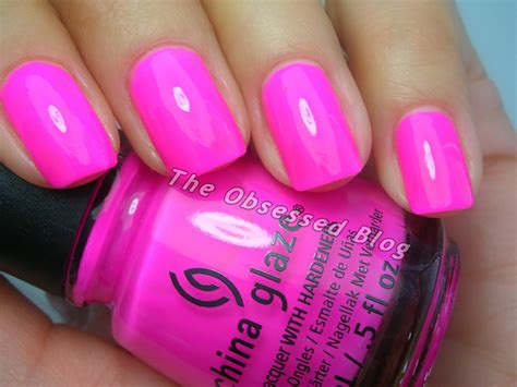 China Glaze Heat Index china glaze sunsational part 1 the obsessed
