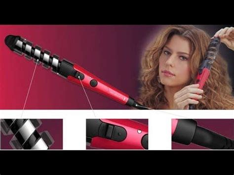 best curling iron for beginners how to use a spiral curling iron wand step by step