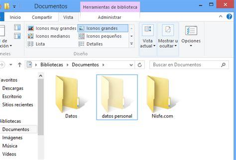 imagenes ocultas windows 8 windows 8 como mostrar y ocultar las carpetas y archivos