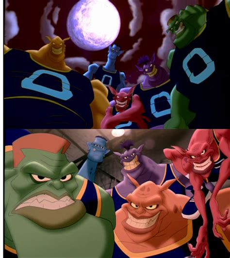 monstars be afraid be very afraid space jam by