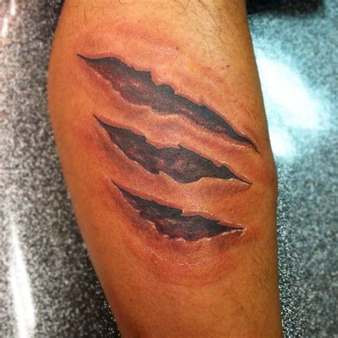 your flesh tattoo best 25 torn skin tattoos ideas on american