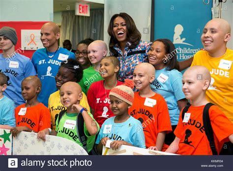michelle obama children first lady michelle obama children stock photos first