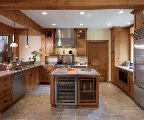 knotty alder kitchen cabinets  natural finish kitchen