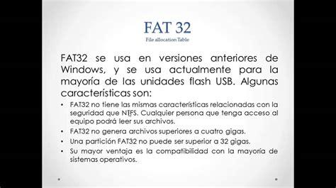 can format fat32 but not ntfs sistemas de archivos ntfs y fat32 youtube