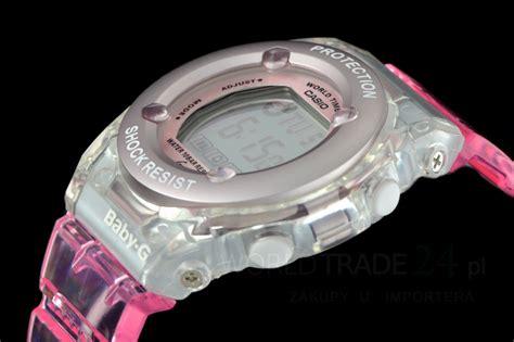 G Shock Baby G Transparan Pink baby g bg 1302 transparent pink