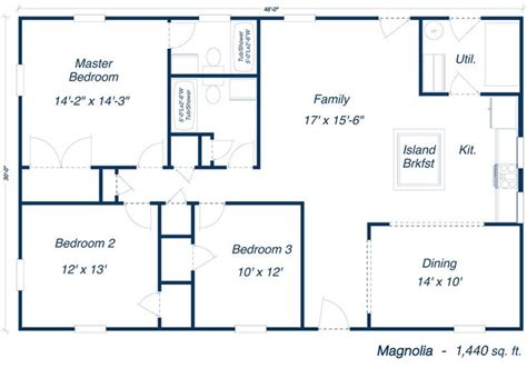 metal home floor plans the magnolia steel home kit steel frame home plans