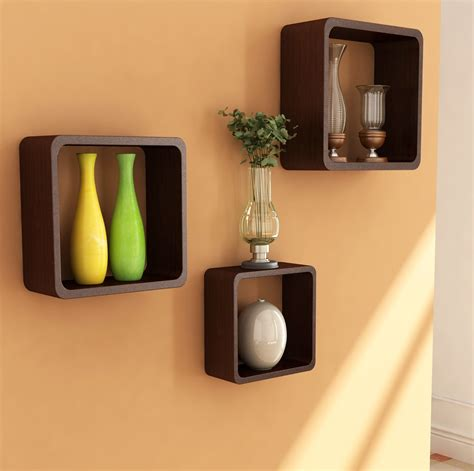 home interior wall decor incredible floating rack for home decor organizing ideas