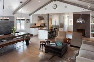 wohnzimmer rustikal modern moderne rustikale interiors