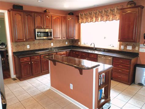 kitchens with granite countertops l chopra tan brown granite kitchen countertop granix