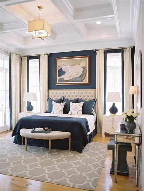 coffered ceiling bedroom 10 beautiful bedrooms with coffered ceilings navy blue