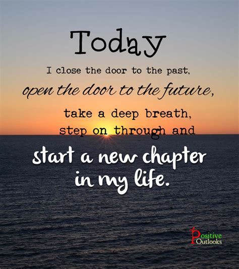 A New Chapter starting a new chapter in your