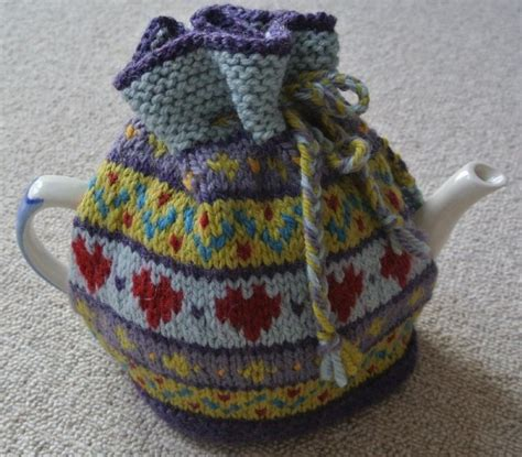 free tea cosy patterns to knit support breast cancer and knit a big tea cosy
