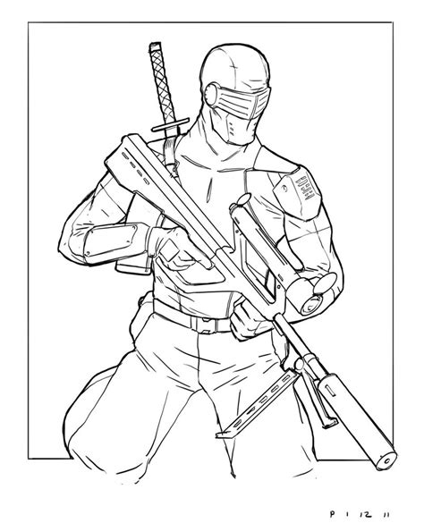 snake eyes coloring pages g i joe snake eyes storm shadow coloring pages coloring pages