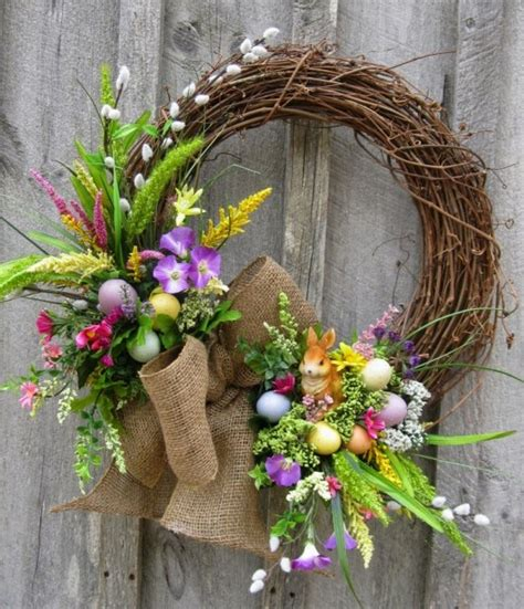 easter wreath ideas easter decorating ideas my daily magazine art design