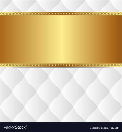 gold and white background white gold background royalty free vector image