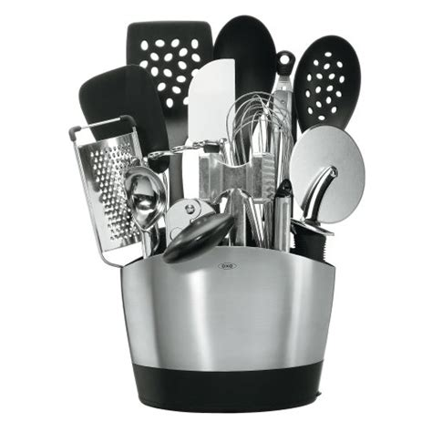 Kitchenaid Utensil Holder Kitchenaid 4 Pc Culinary Utensil Set Black Cook Tools