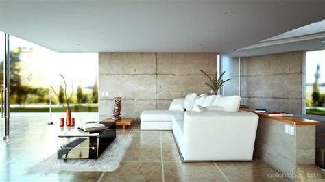Beautiful Home Interiors Pictures by Interior Render In Maya And Octane Render Modern Living