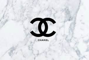 Coco Chanel Wall Stickers chanel logo with a marble background this is perfect for