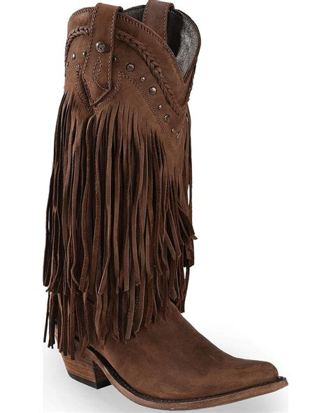 fridge boots liberty black s vegas fringe boot pointed toe