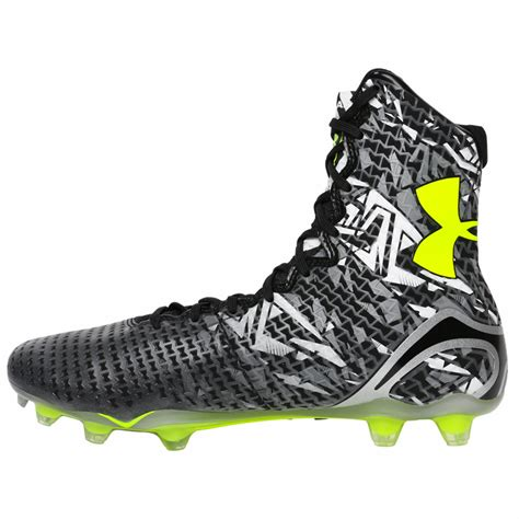 Armoir Cleats by Armour Highlight Mc Lacrosse Cleats Black Graphite