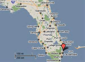 deerfield florida map sighting reports 2011