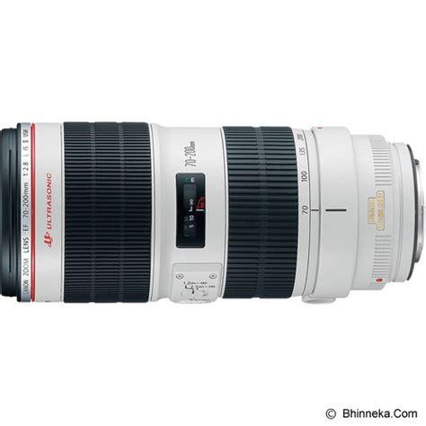 Lensa Canon Ef 200mm F 2 8l Ii Usm jual canon ef 70 200mm f 2 8l is ii usm murah bhinneka