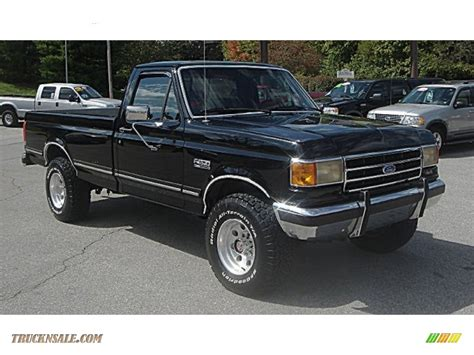 1990 ford f250 for sale 1990 ford f250 xlt lariat regular cab 4x4 in black
