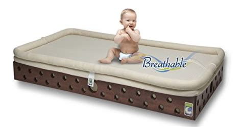 Heaven Sent Breathable Crib Mattress Secure Beginnings Are Breathable So Safest Mattresses For Baby