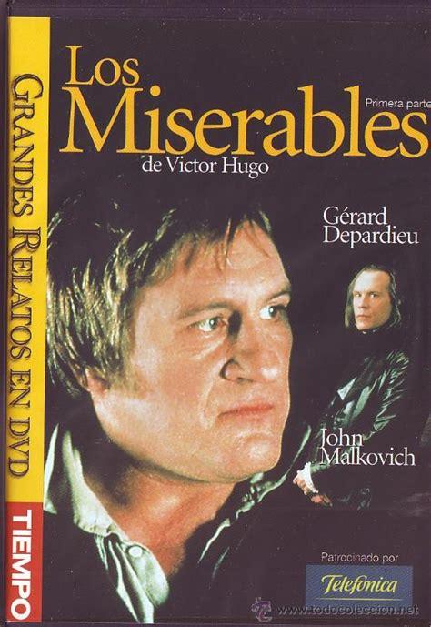 gerard depardieu john malkovich los miserables primera y segunda parte dvd comprar