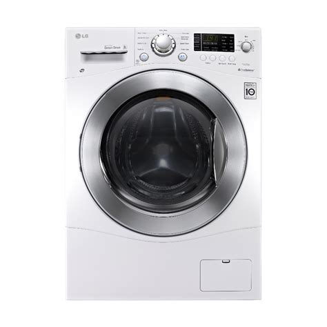 ventless washer dryer combo shop lg 2 3 cu ft ventless combination washer and dryer white at lowes