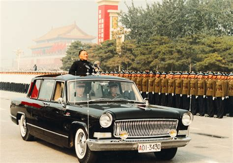 Rote Fahne Auto by Flying The Flag China S Hongqi Wheeled Out As