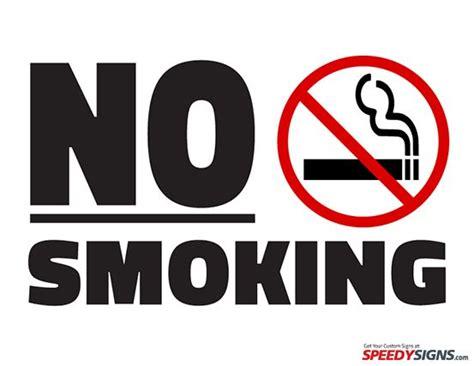 large printable no smoking signs free no smoking printable sign template free printable